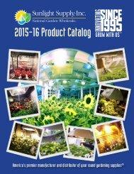 Sunlight Supply Product Catalog 2015-16