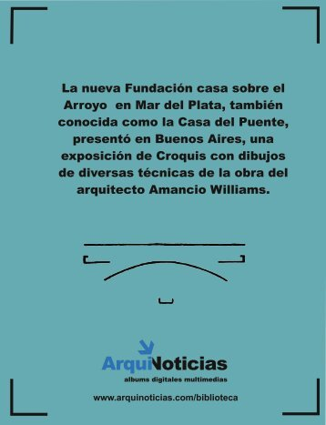 Album N° 8 Casa sobre el Arroyo