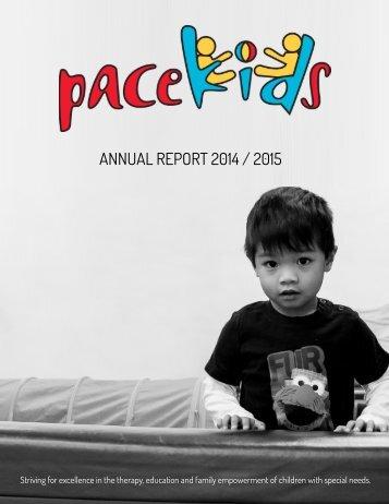 ANNUAL REPORT 2014 / 2015