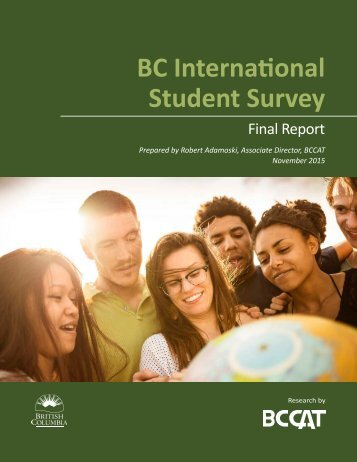 BC International Student Survey