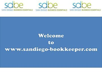 San Diego Bookkeeping Services