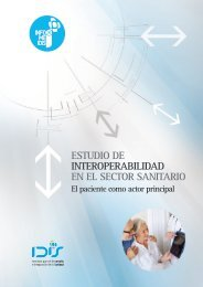 ESTUDIO DE INTEROPERABILIDAD EN EL SECTOR SANITARIO