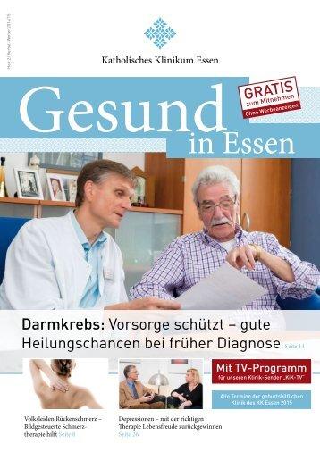 Patientenzeitschrift Herbst/Winter 2014/2015