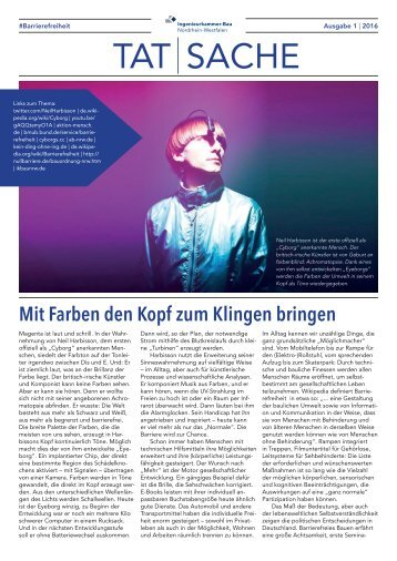TatSache Ausgabe 01/2016