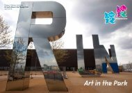 Art in the Park - London 2012 Olympics