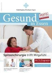 Patientenzeitschrift Herbst/Winter 2015/16