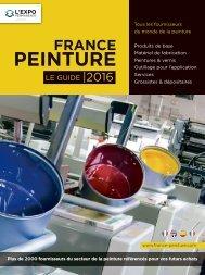 Guide France Peinture 2016