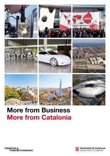 Invest in Catalonia - Pourquoi choisir Barcelone et la Catalogne ?