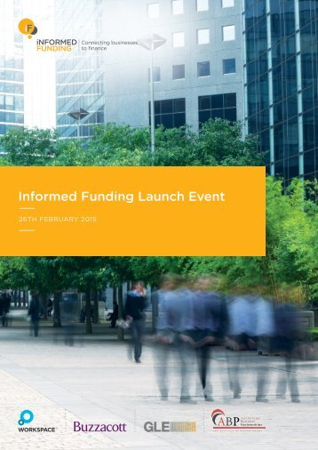 Informed Funding Launch Event