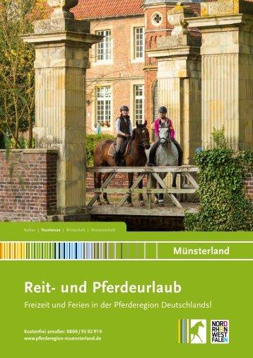 Reit- und Pferdeurlaub im Münsterland