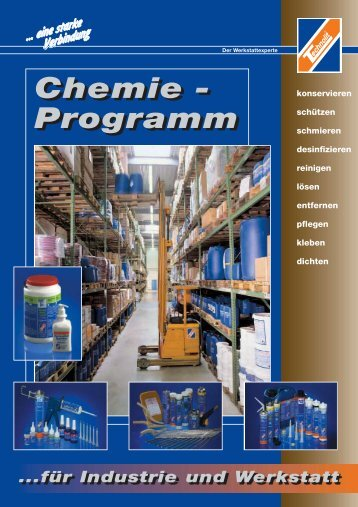 Chemie - Programm Chemie - Programm