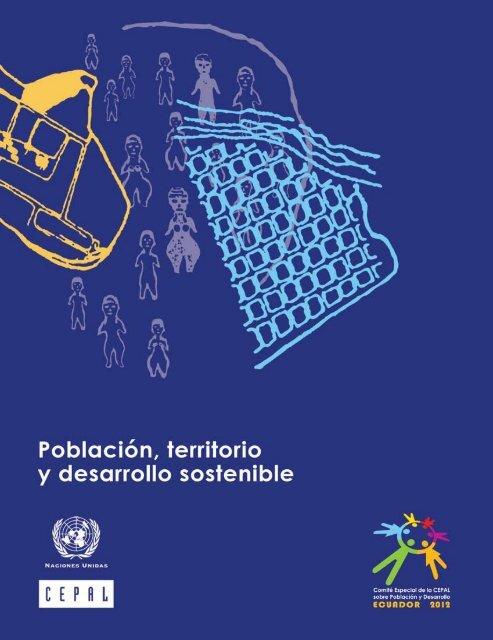 Población Territorio Y Desarrollo Sostenible