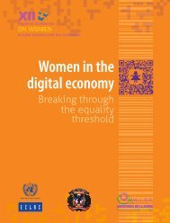 Women in the digital economy: breaking through the equality threshold