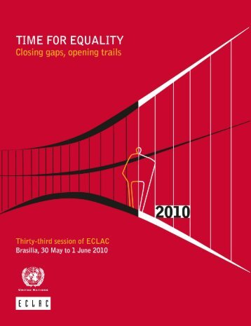 Time for equality: closing gaps, opening trails