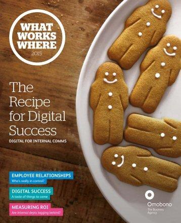 The Recipe for Digital Success