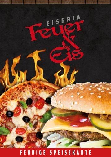 Speisekarte Feuer und Eis, Niederwerrn