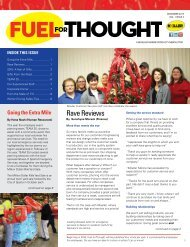 Fuel For Thought - December 2015