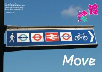 Transport Plan - London 2012 Olympics