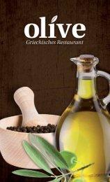 Speisekarte Olive, Sennfeld