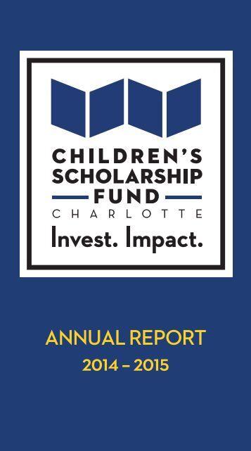 ANNUAL REPORT 2014 – 2015