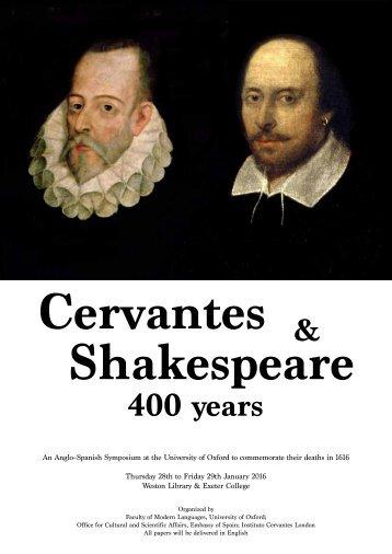 Cervantes Shakespeare