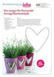 Die sorgen für Romantik: herzige Blumentöpfe - Leben & erziehen