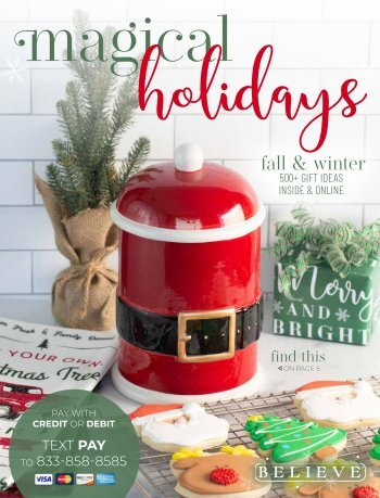 2017 Magical Holidays Fall Catalog