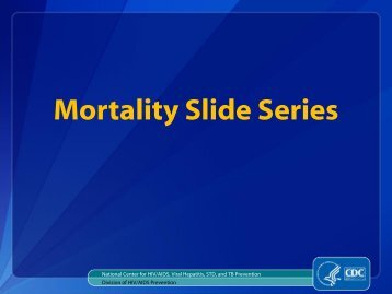 Mortality Slide Series