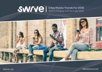 5 Key Mobile Trends For 2016