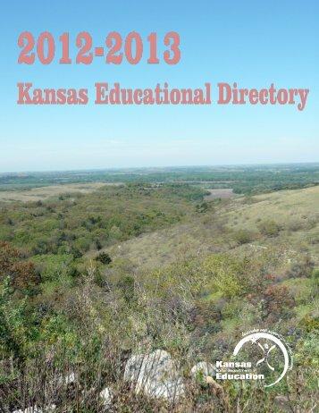KSDE 2012-2013 Directory - Southwest Plains Regional Service ...