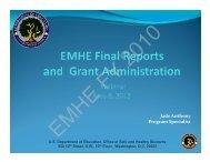 Jade Anthony Program Specialist - Readiness and Emergency ...