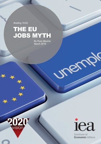 THE EU JOBS MYTH