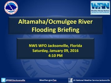 Flooding Briefing