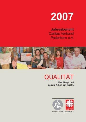qualität - Caritasverband Paderborn eV