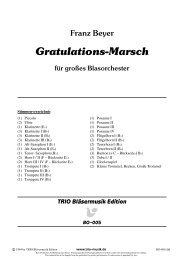 Gratulations-Marsch - Demopartitur (BO-005)