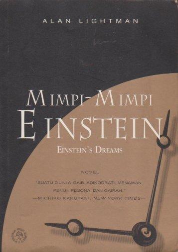 Alan Lightman - Einstein Dream