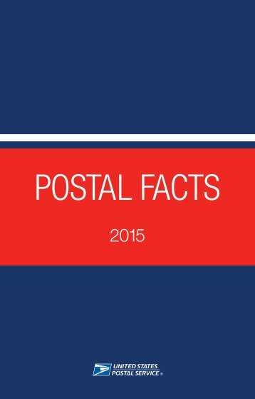 POSTAL FACTS