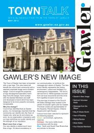Council Newsletter Autumn 2012 - Town of Gawler