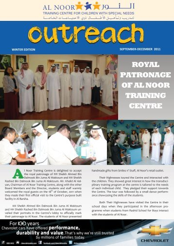 winter edition september-december 2011 royal patronage of al noor ...