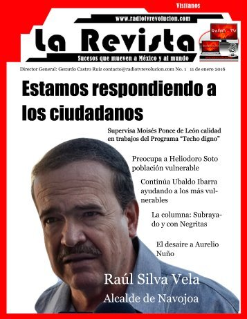 La Revista 1 Radio Tv Revolución2
