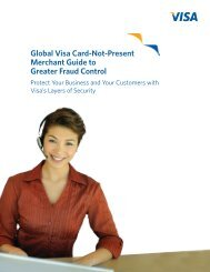 Global Visa Card-Not-Present Merchant Guide to Greater Fraud ...