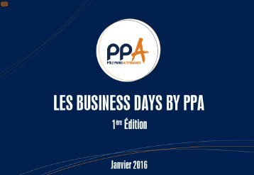 Les Business Days by PPA