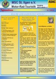 Newsletter 4-2015