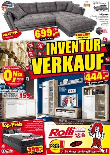Inventur-Verkauf