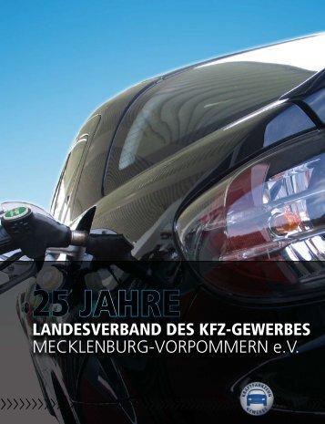 KFZ-Jubiläumsbroschüre