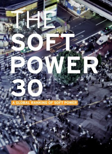 A GLOBAL RANKING OF SOFT POWER