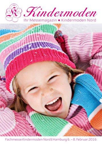 Kindermoden Nord Messe Magazin Februar 2016