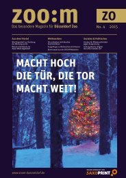 ZOO:M ZOO Ausgabe 4/2015