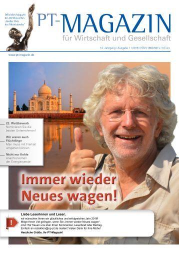 PT-Magazin 01_2016_Immer wieder Neues wagen