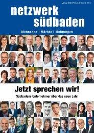 Netzwerk Südbaden - Ausgabe Dezember 2015